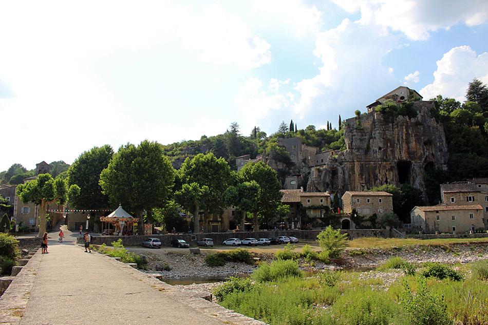 Le village de Labeaume fait partie des plus beaux villages du Sud de l'Ardèche et de France.
