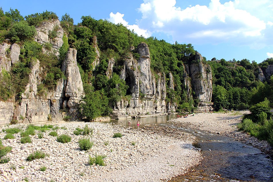 Le village de Labeaume et ses gorges font partie des plus beaux coins d'Ardèche du Sud et de France.