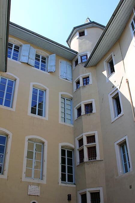 L'hôtel de Cordon à Chambéry en Savoie (France)