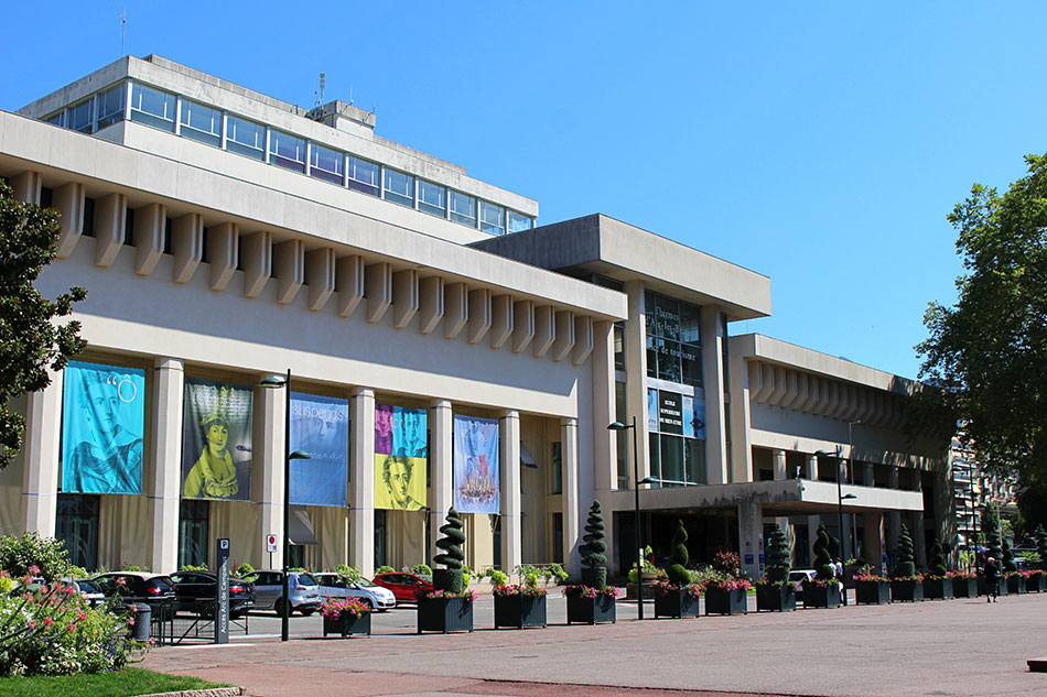 Thermes Nationaux d'Aix-les-Bains dans le département de la Savoie en France