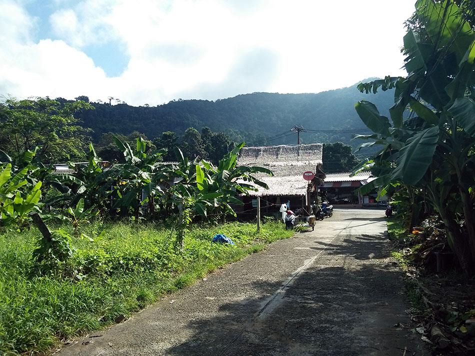 Village de Bailan sur l'île de Koh Chang dans la province de Trat en Thaïlande.