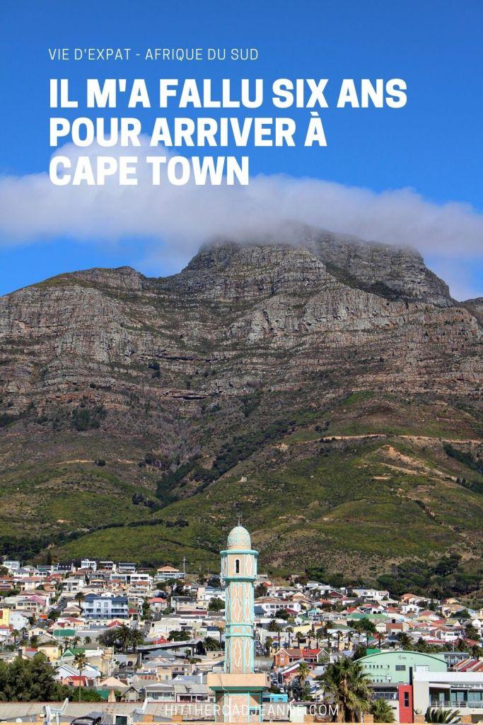 Histoire d'une expatriation à Cape Town en Afrique du Sud