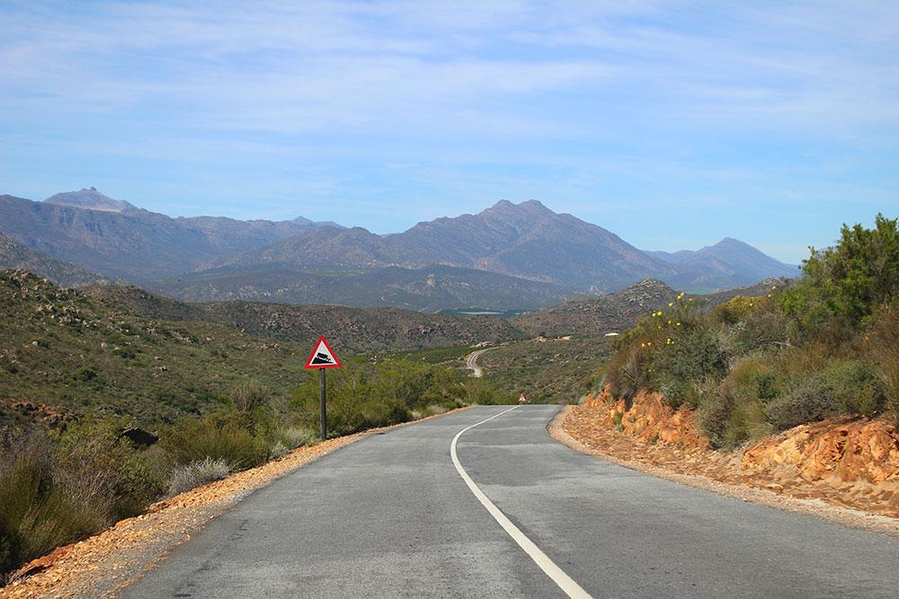 Paysage du Cederberg lors d'un road-trip sur la côte ouest sud-africaine