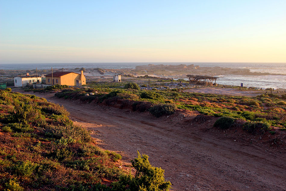 Village de pêcheurs de Doringbaai en Afrique du Sud