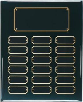 Black Perpetual Plaque 18 Plates BPP18