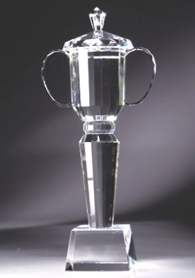 CRY122 Crystal Trophy Cup