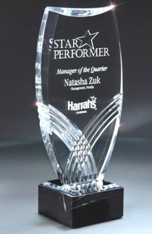 DT313A Nile Acrylic Award