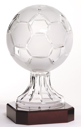 Lead Crystal Soccer Ball