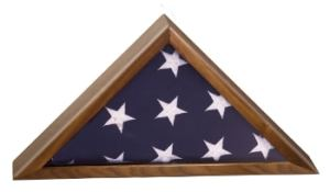 Flag Display Case Made From Walnut Wood-0