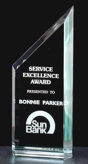 A6412 A6414 Zenith Acrylic Award