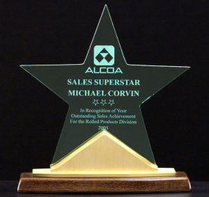 A6578 Star Acrylic Award