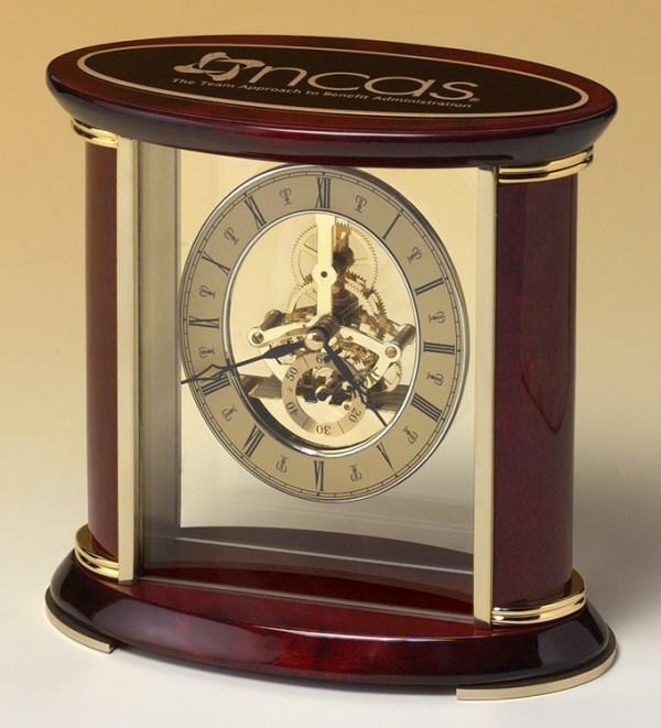 BC523 Skeleton Clock