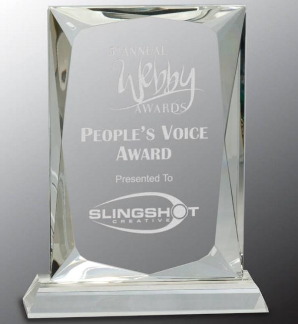 CRY112 Crystal Award