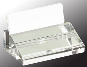 Crystal Business Card Holder CRY3611S