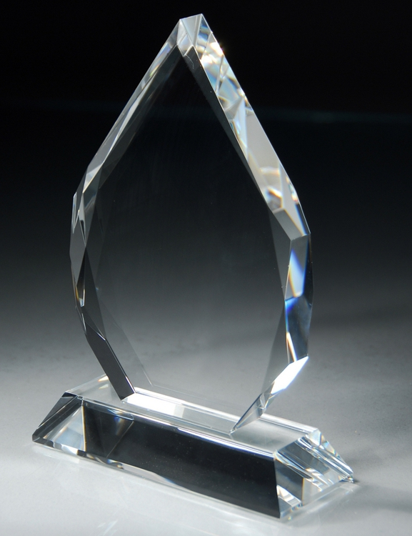 CRY38 Crystal Award Blank