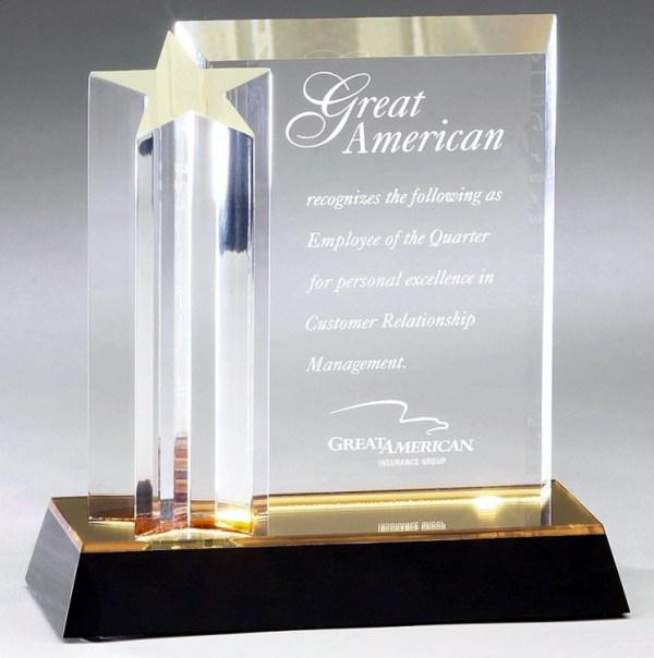 DT215 Acrylic Award