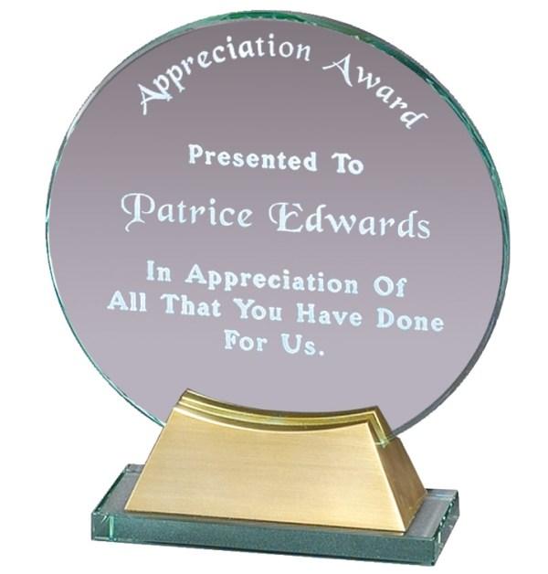 GL43 Glass Award