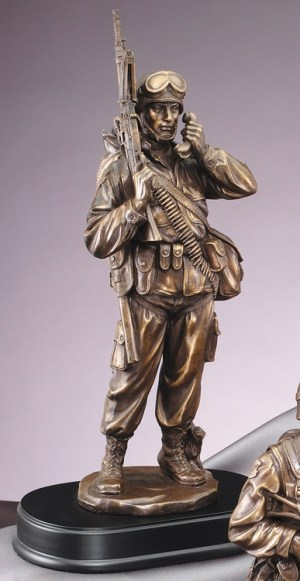 MIL202 Military Statue