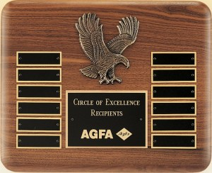 P2296 Eagle Perpetual Plaque