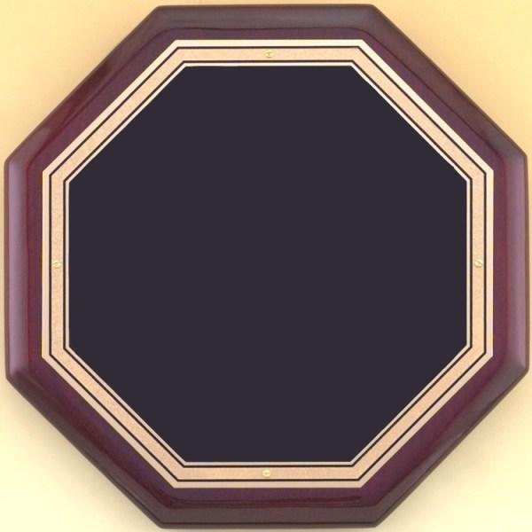 P4160 Octagon Plaque - Blank