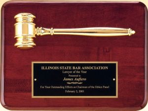 PG3751 Gavel Plaque