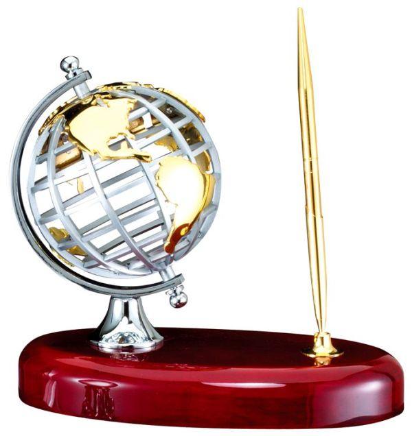 RWS72 Globe Desk Pen Set