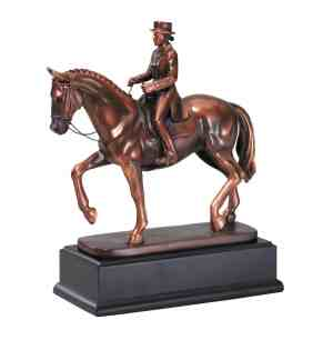 Female Dressage Horse Statue RFB191F