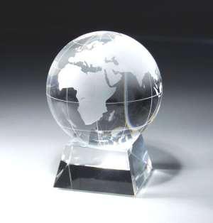 Crystal Globe Award CRY115