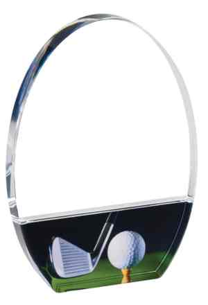 Acrylic Golf Award Trophy DT322B
