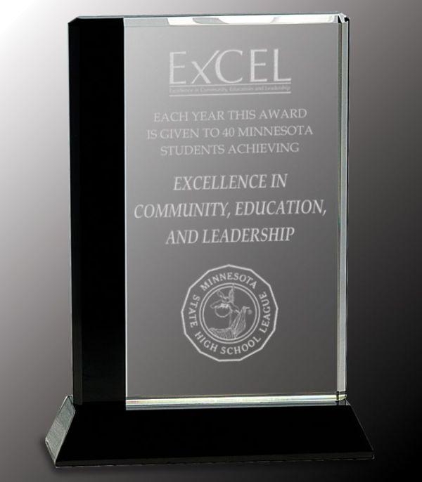 CRY034L Crystal Award