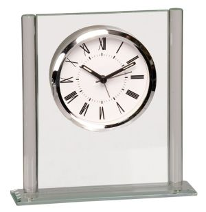 Square Glass Clock GCK002