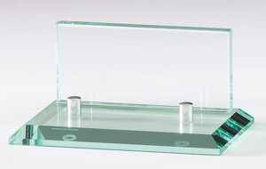 GL77 Glass Business Card Holder