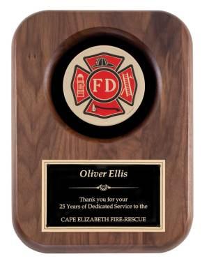 Fireman Insignia Plaque