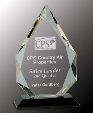 CRY005L Crystal Award