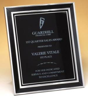 FR65 FR68 Black Frame Plaque