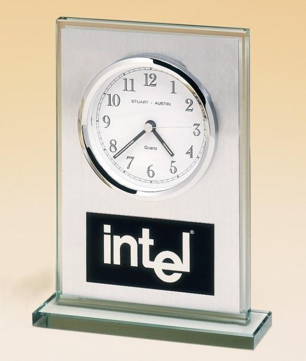 BC65 Glass Clock