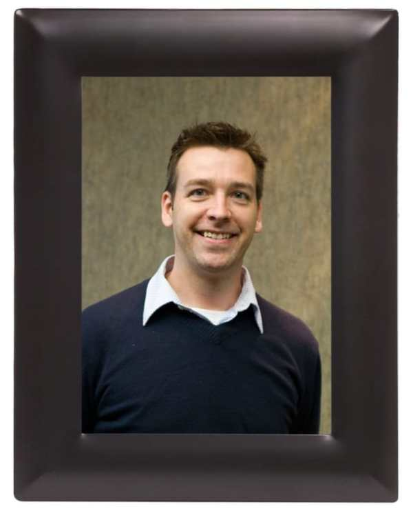 Black & Silver Picture Frame-4099