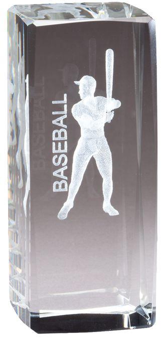 CRY1210 Crystal Baseball Award