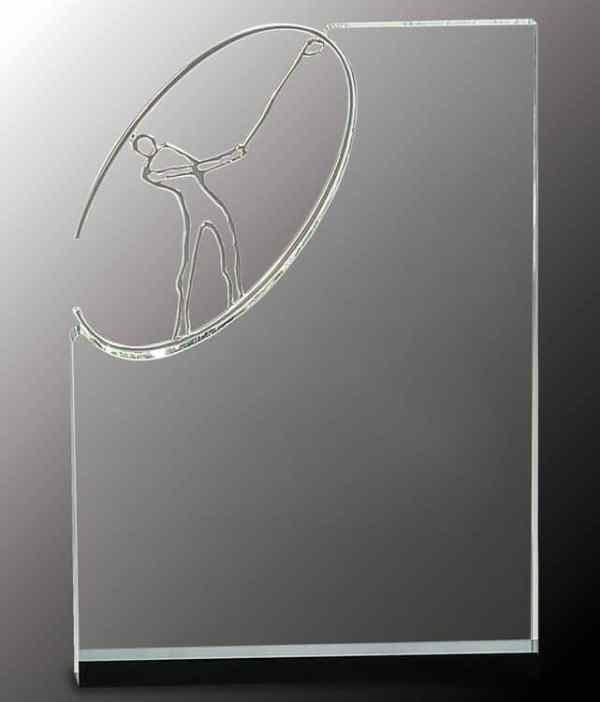 CRY147 Golf Trophy-Blank