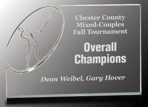 CRY148 Golf Trophy