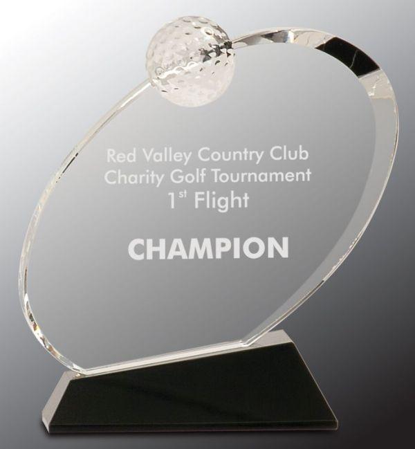 CRY013L Golf Trophy