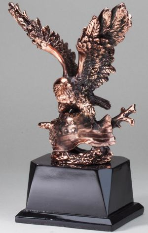 AE270 Eagle in Flight Statue