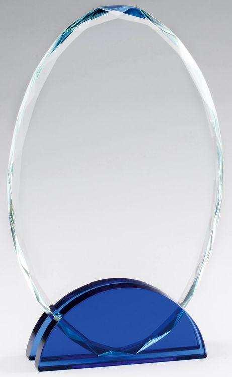 CRY465 Crystal Oval Award