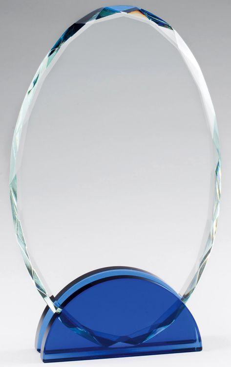 CRY466 Crystal Oval Award