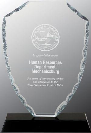 FC42 Glass Shield Award