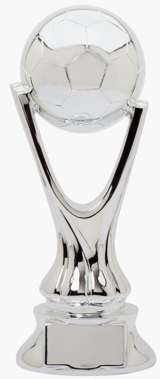 Silver Soccer Trophy RG5013