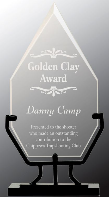 VG22 Diamond Glass Trophy