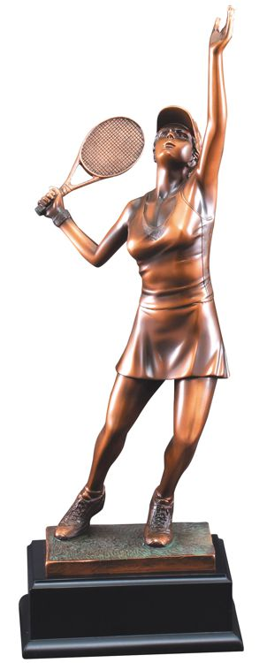 Women's Tennis Statue RFB122