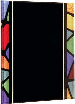 ART279 Stained Glass Acrylic Plaque