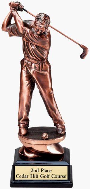 G1502 Golf Statue Trophy